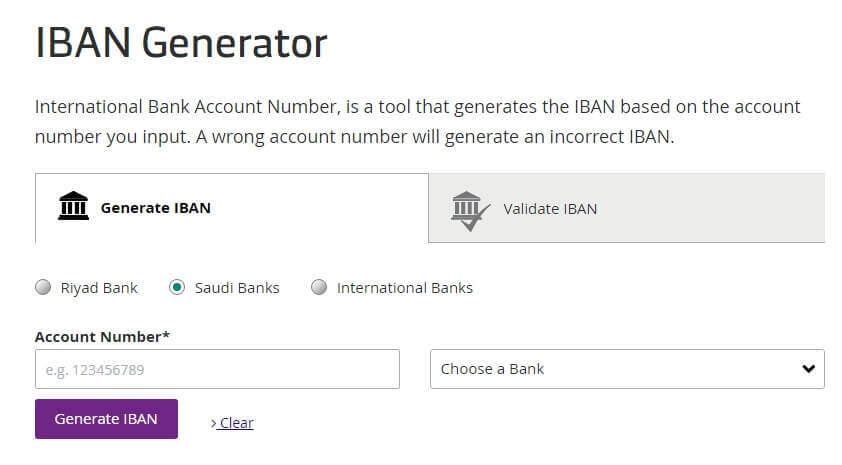 Bank Account Generator – Currency Exchange Rates