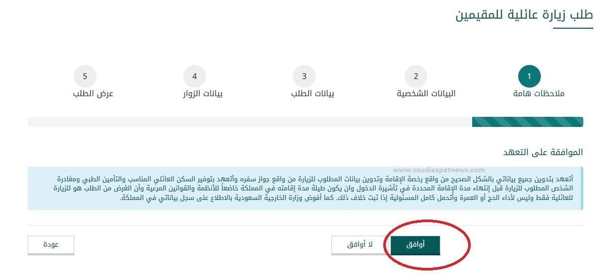 saudi mofa visit visa ksa