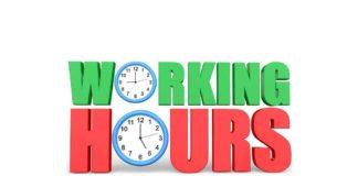 WORKING HOURS IN SAUDI ARABIA