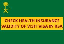 Health Insurance for Visit Visa in Saudi Arabia