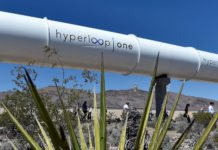 VIRGIN HYPERLOOP ONE SAUDI ARABIA