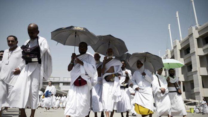 50C Heat During Hajj