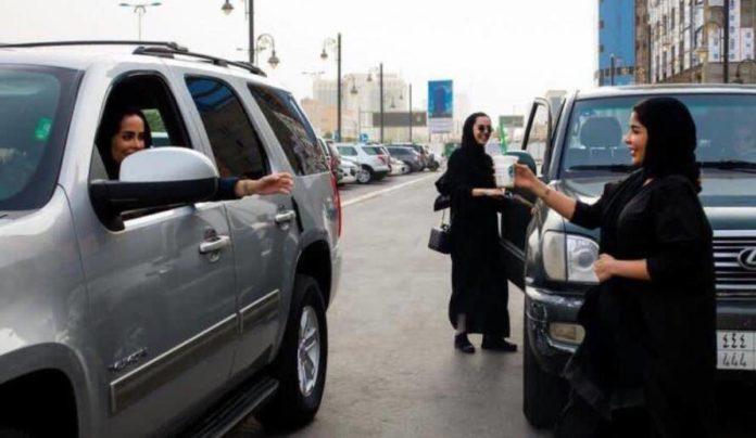 Female Traffic Police in Saudi Arabia