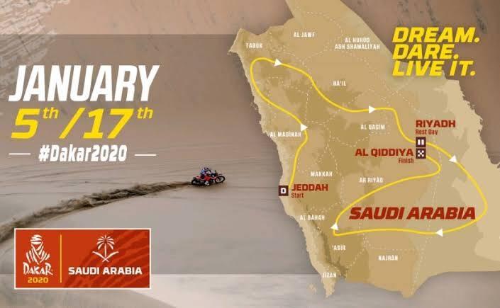 Saudi Arabia Dakar rally 2020