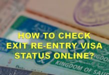 PROCEDURE TO CHECK EXIT RE-ENTRY VISA STATUS ONLINE WITH MUQEEM.SA