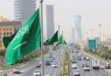 Saudi Arabia suspends domestic flights, trains, buses, and taxis from tomorrow for 2 weeks.