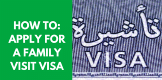 HOW TO APPLY FOR A FAMILY VISIT VISA IN KSA