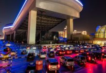 Saudi Arabia opens its first drive-in movie theater in Riyadh
