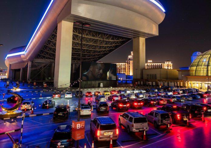 Saudi Arabia opens its first drive-in movie theater in Riyadh