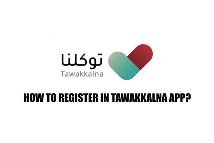 Tawakkalna App Registration