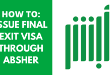 Procedure to Issue Final Exit Visa through Absher