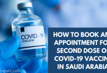 HOW TO BOOK AN APPOINTMENT FOR SECOND DOSE OF COVID-19 VACCINE IN SAUDI ARABIA-3