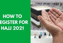 How to Register for Hajj 2021
