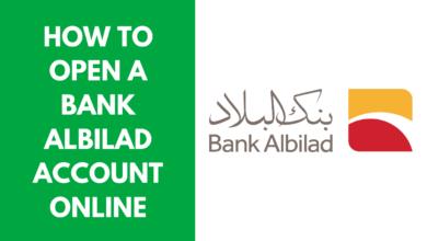 How to Open a Bank Albilad Account Online